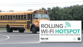Polk County Schools wifi buses