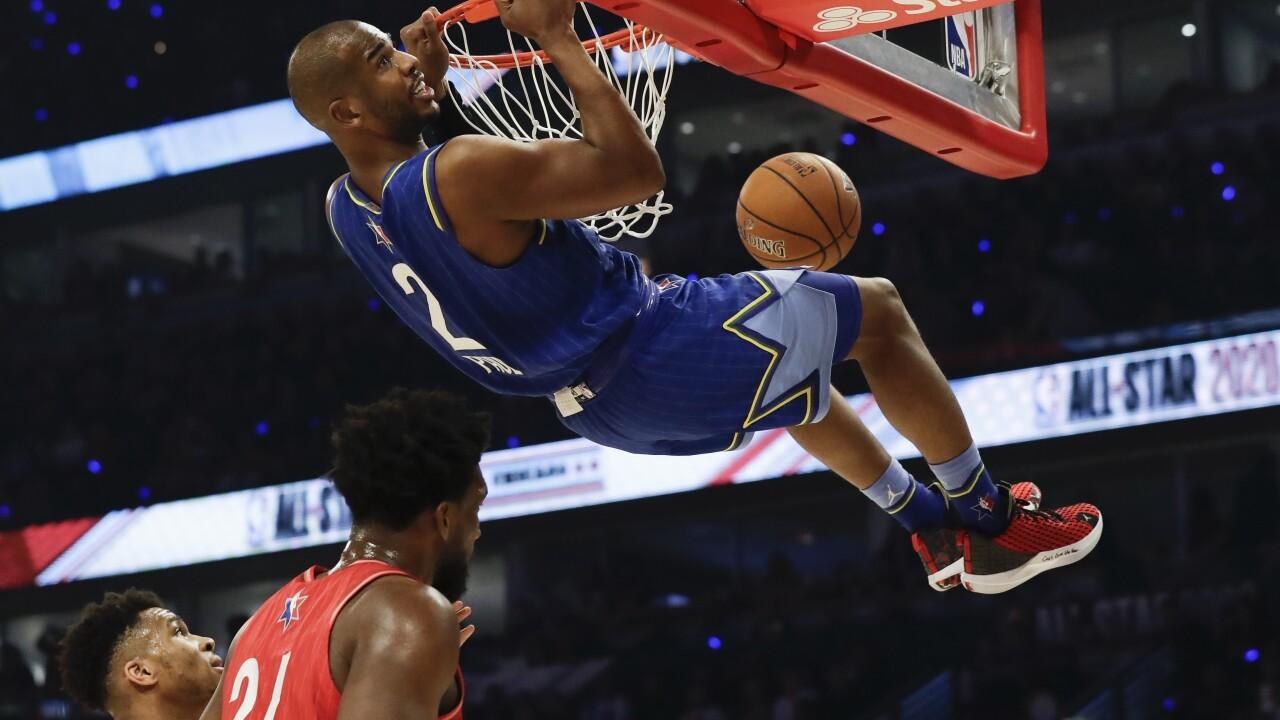 APTOPIX NBA All Star Game Basketball