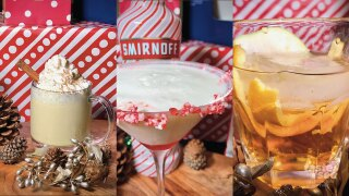 With family in town, you may want to spruce up your cocktail game with these recipes from Duffy's Sports Bar & Grill's holiday menu.