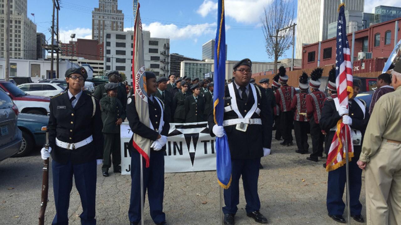 2015 Veterans Day Parade in Tulsa