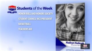 Students of the Week: Rachel Braswell and Madisyn Hudecek of Absarokee High School
