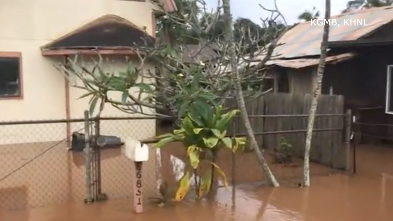 Hawaii flooding