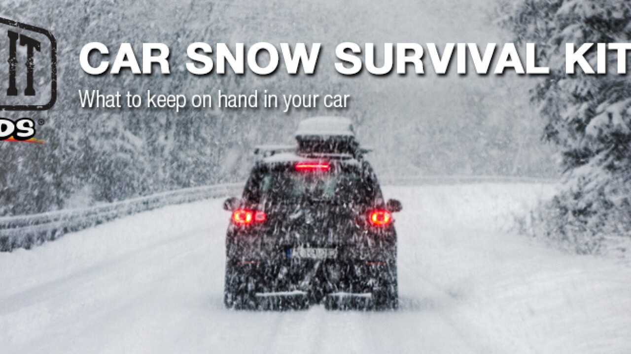 Car Snow Survival Kit