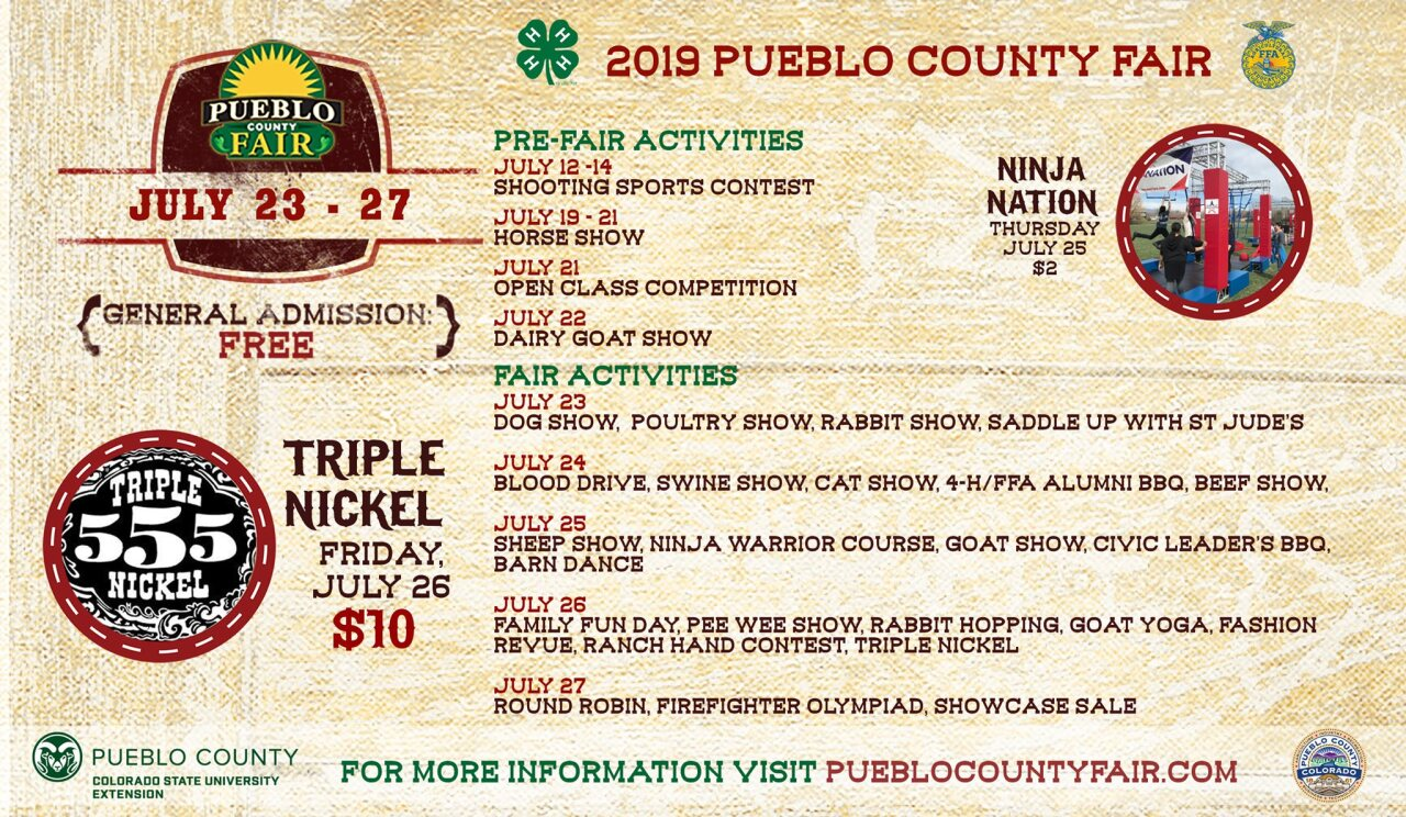 Pueblo County Fair Events