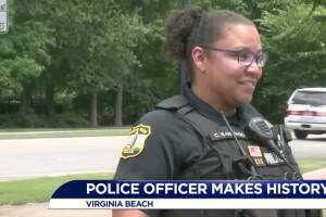Virginia Beach Police officer will soon become department's first Latina sergeant