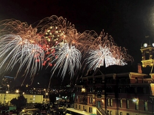 Riverfest and WEBN fireworks through the years