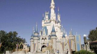 Authorities say man rammed into Disney World bus