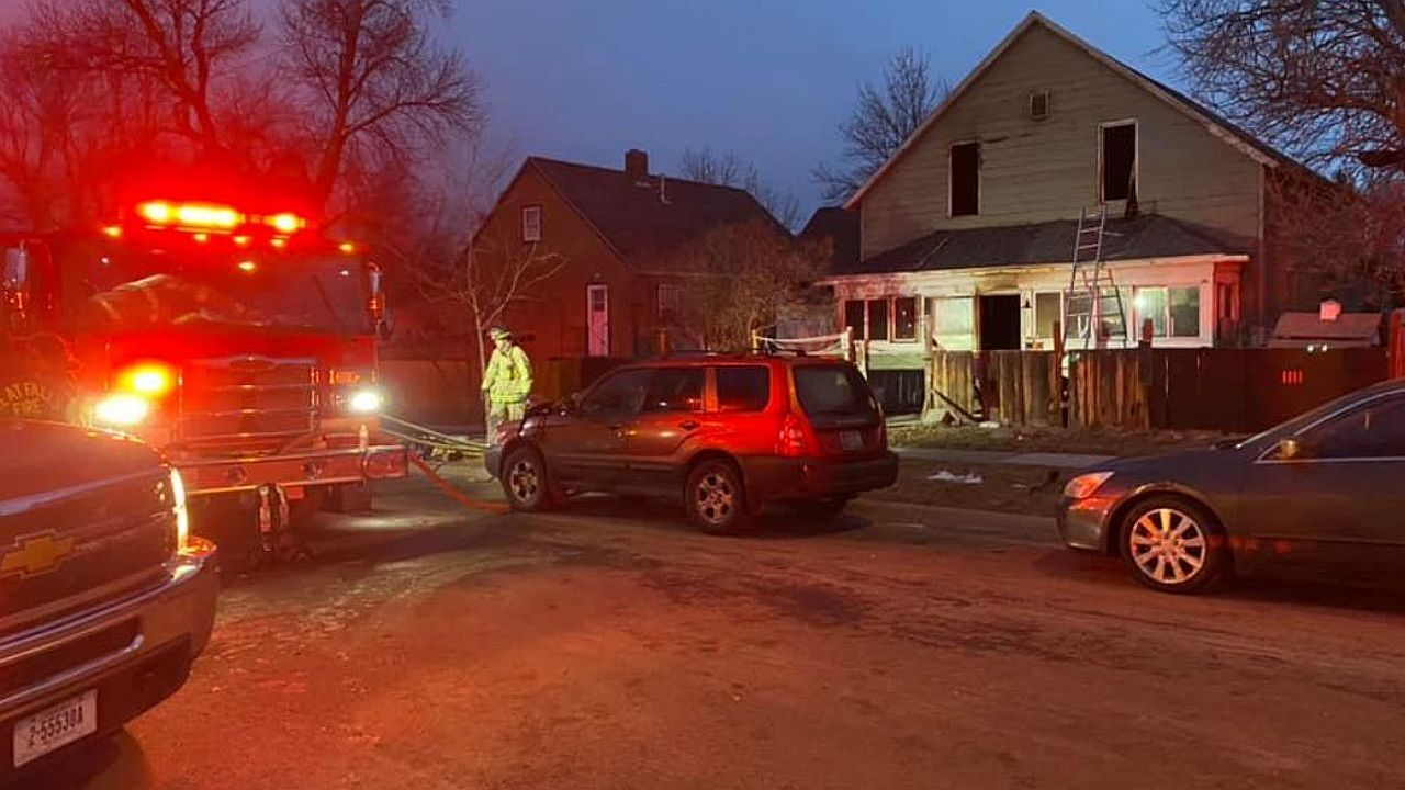 Emergency crews responded to an early-morning house fire in Great Falls on Tuesday.