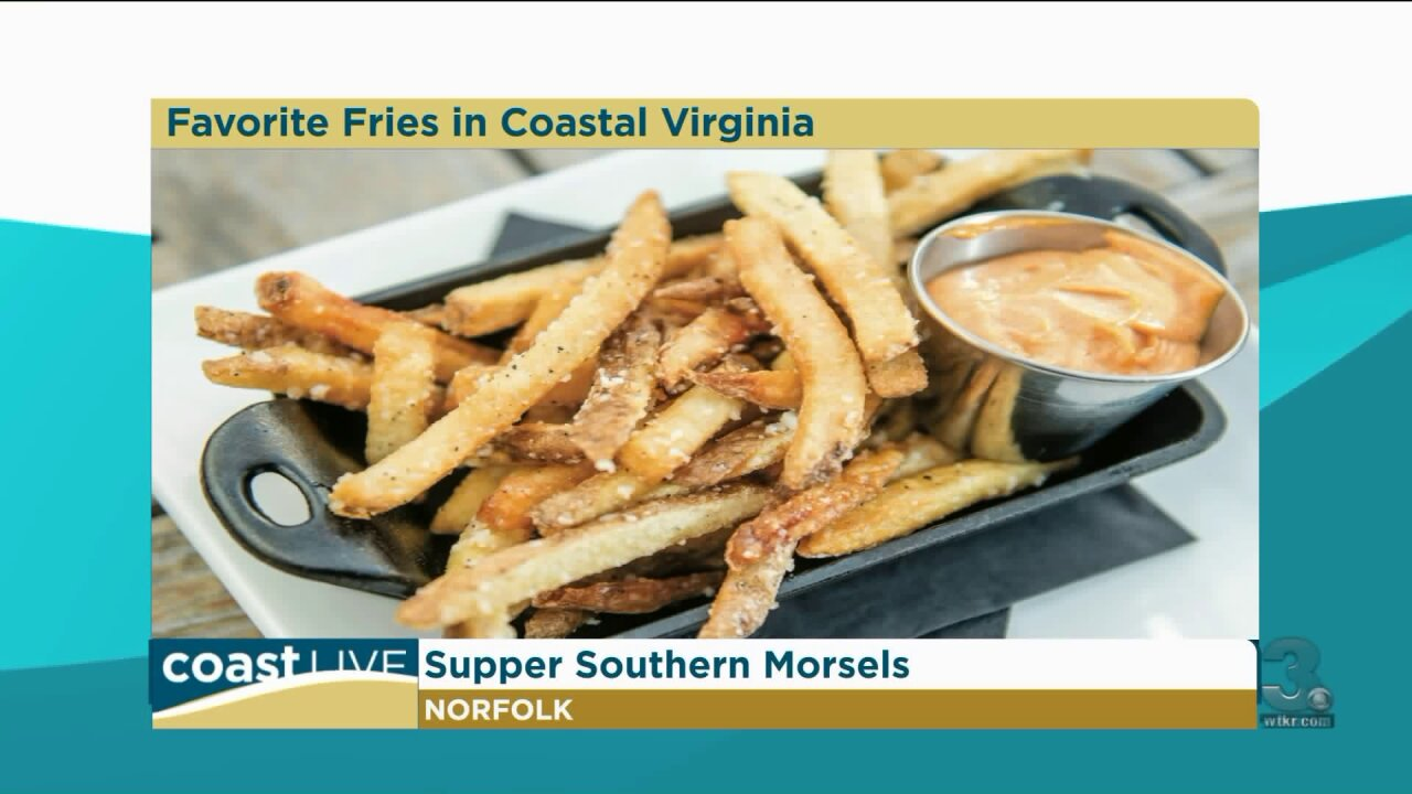 The top five fries in Coastal Virginia on CoastLive
