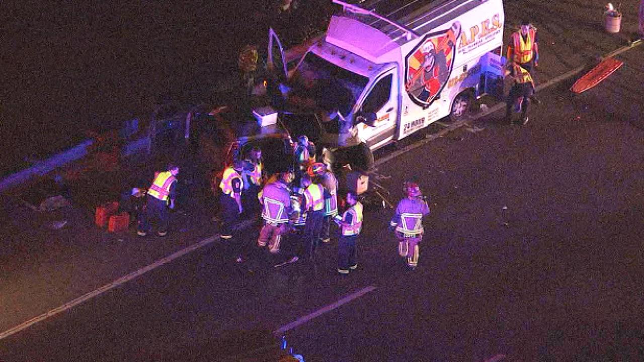 Serious crash at Loop 101 and Olive