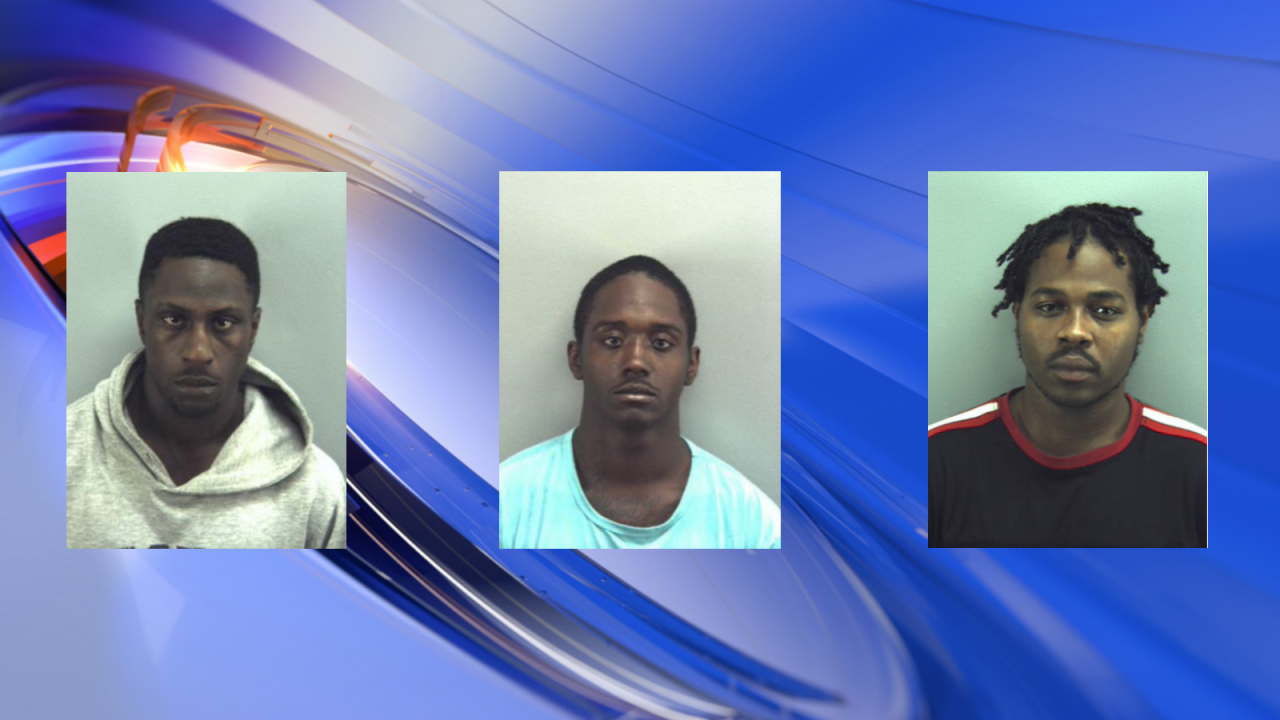 Three men arrested in connection with Harris Teetershooting