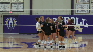 Carroll volleyball sweeps MSU-Northern to improve to .500