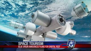 Proposed Blue Orbital space station