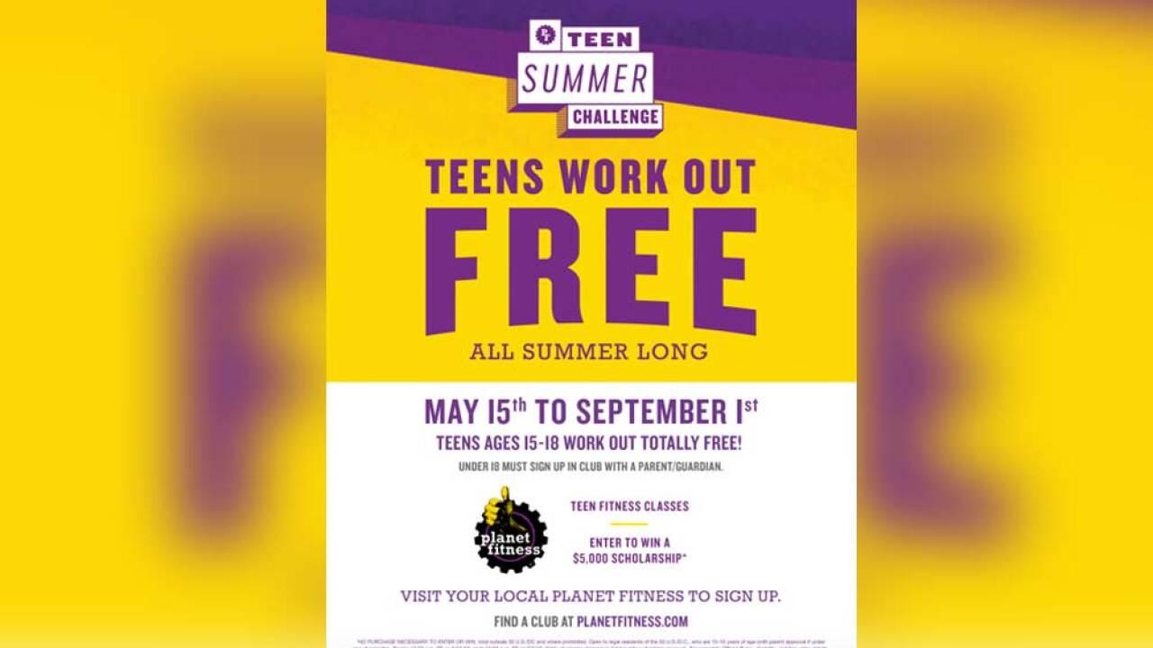 Teen Summer Challenge Teen Summer Challenge