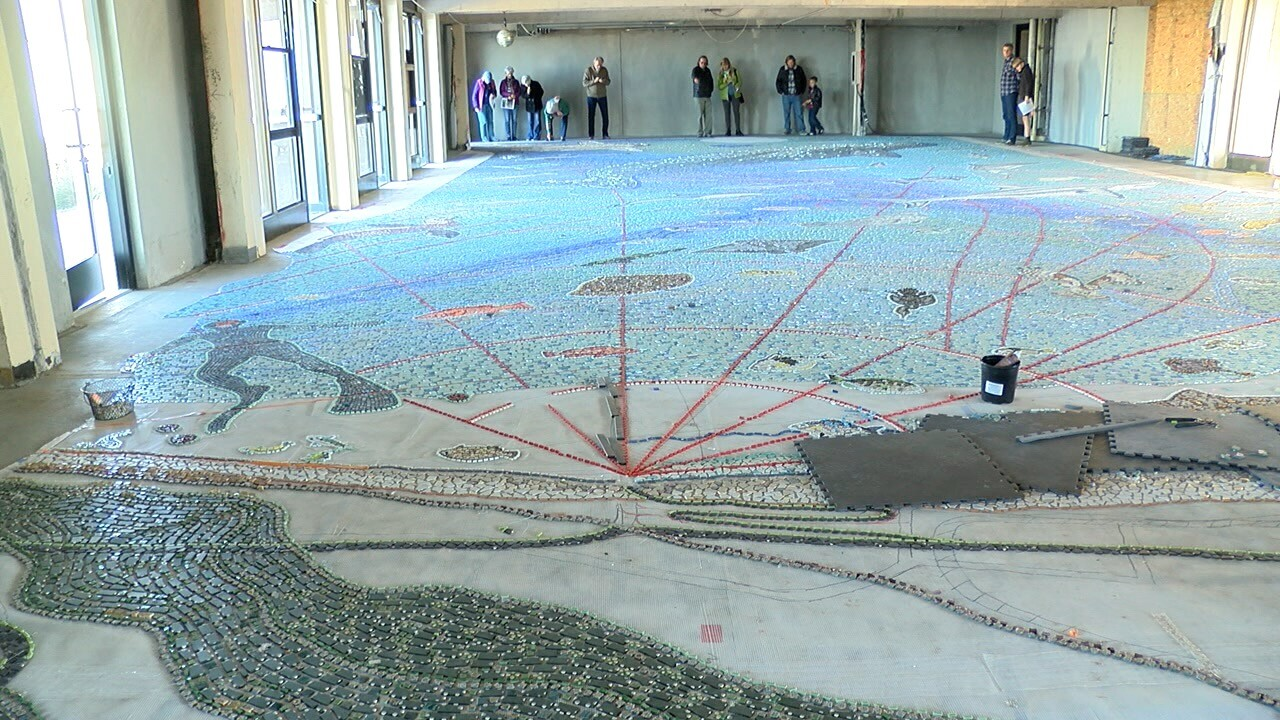 A 2,400 square-foot mosaic planned for La Jolla Shores