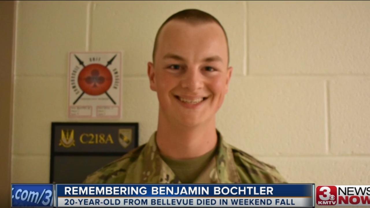 Aspiring West Point cadet dies in cliff-diving accident
