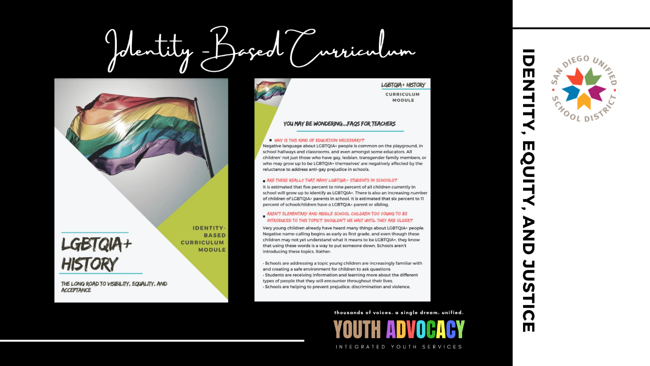 Curriculum supports LGBTQIA students