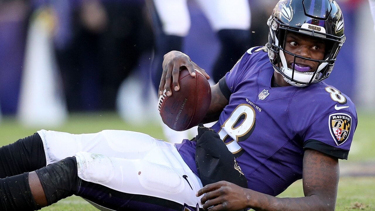 Ravens QB Lamar Jackson apologizes after posting video of him speeding and not wearing seat belt