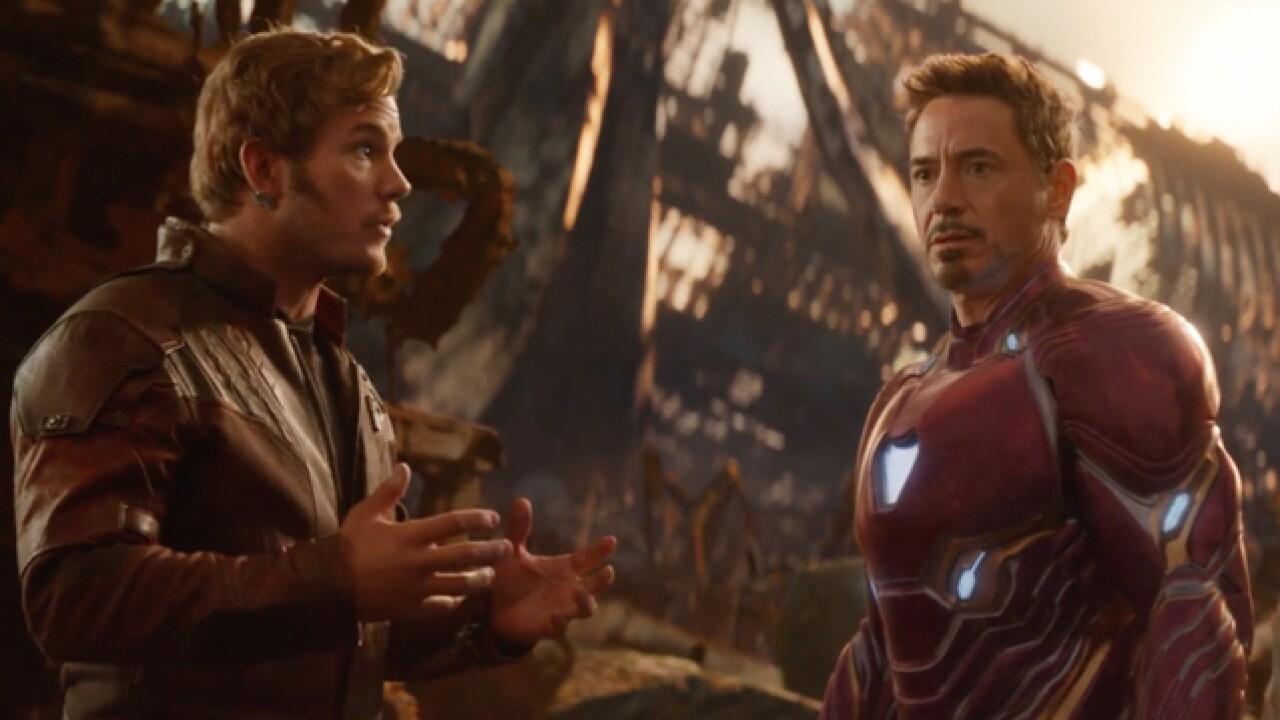 'Avengers: Infinity War' debuts at home