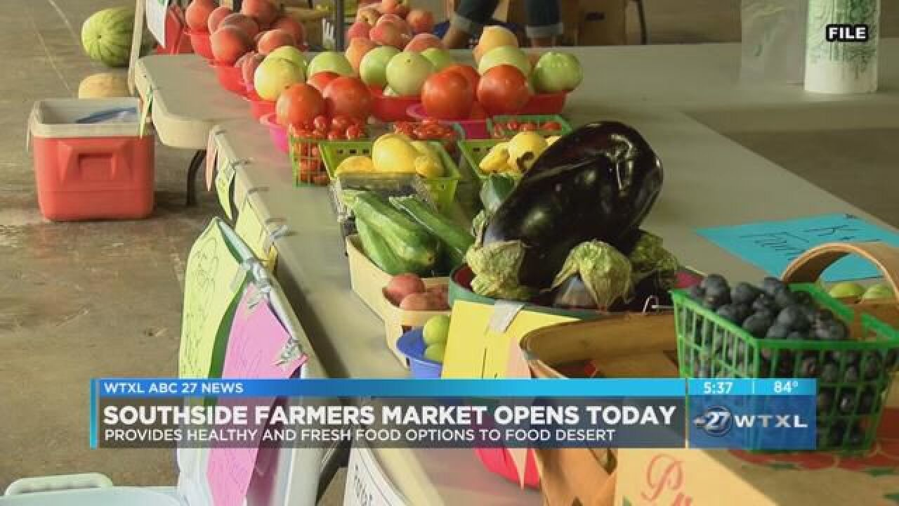 Farmer's Market opens today on Southside of Tallahassee