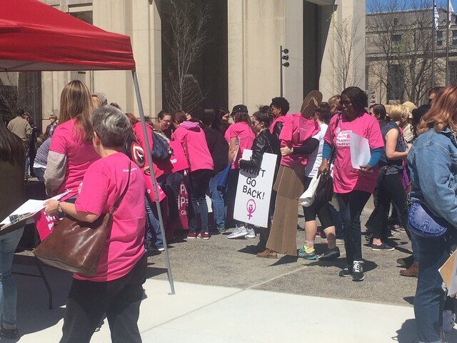 PHOTOS: Planned Parenthood supporters rally at statehouse
