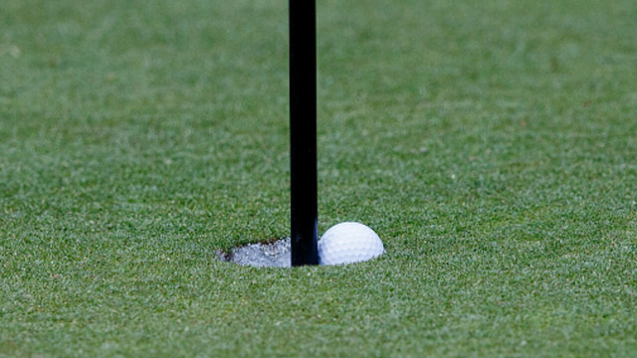 Amateur golfer sinks three holes in one on the same day