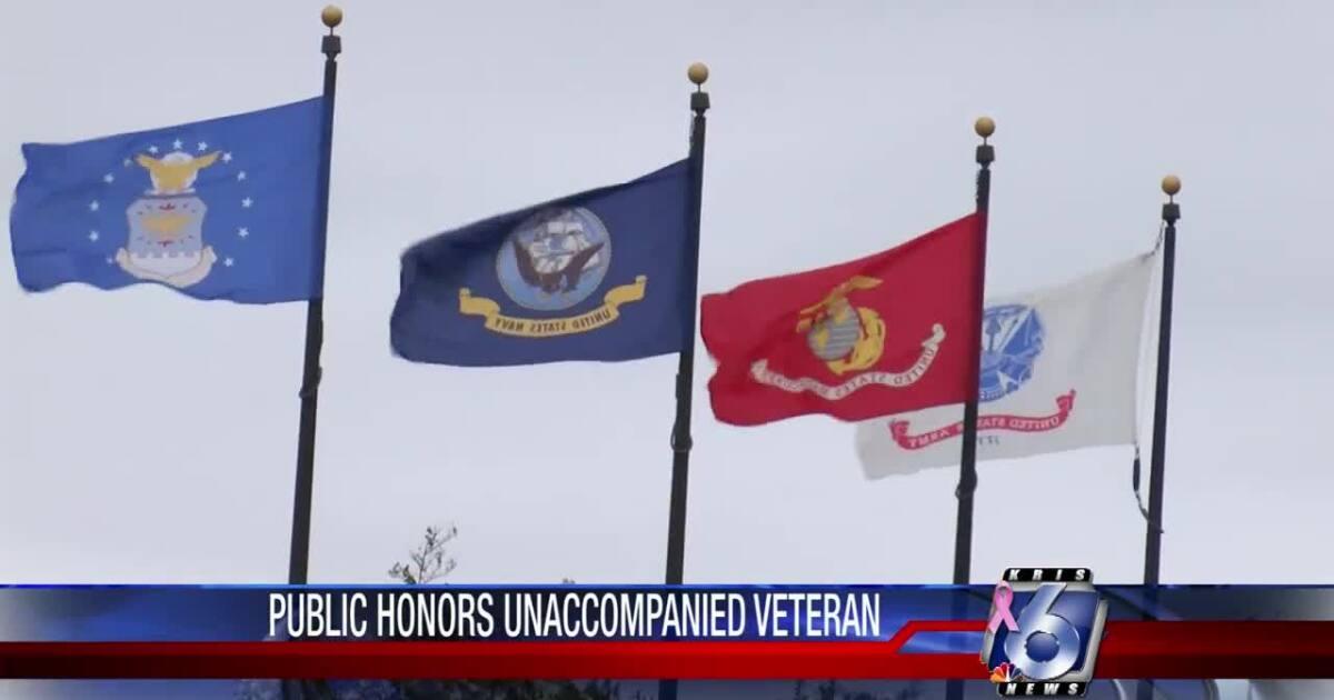 Unaccompanied veteran Scott Phillips buried with full honors