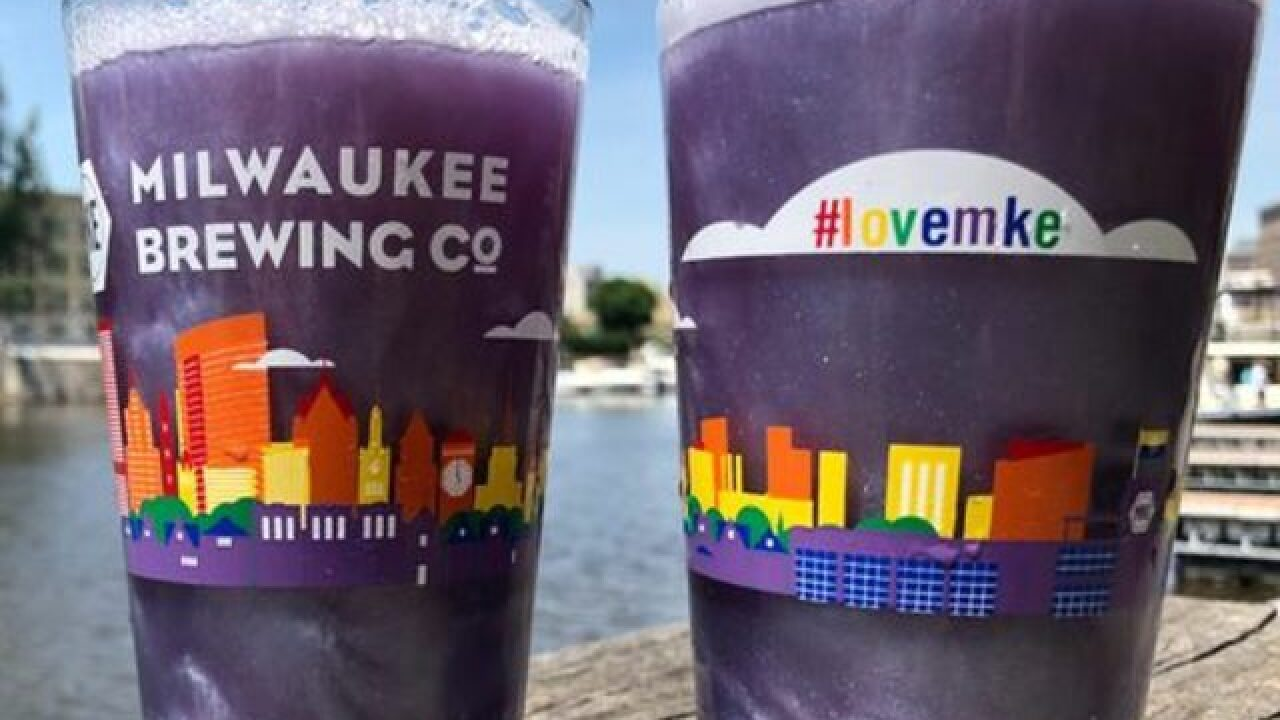 Milwaukee Brewing Co. releases purple glitter beer