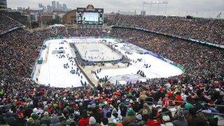 Wild Winter Classic Hockey