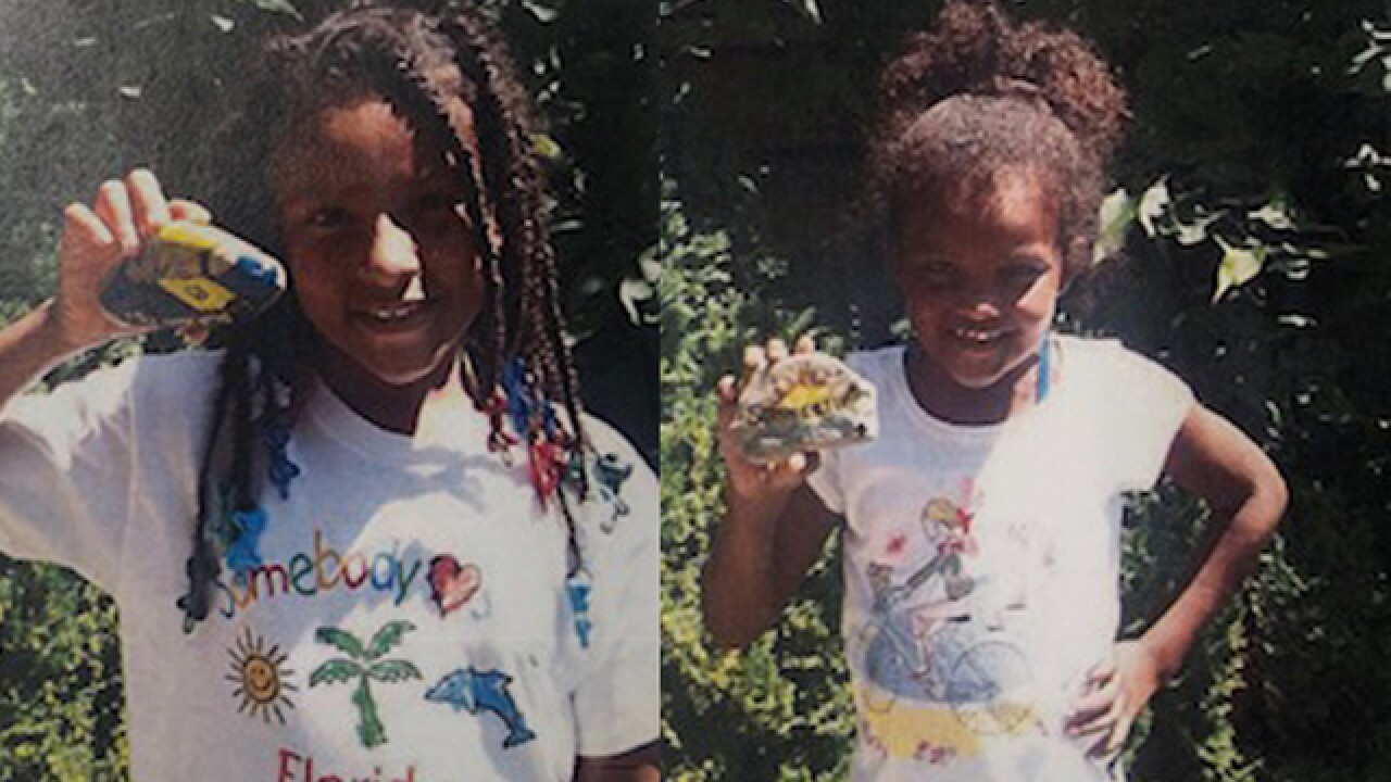Detroit police search for two missing girls who disappeared Monday afternoon