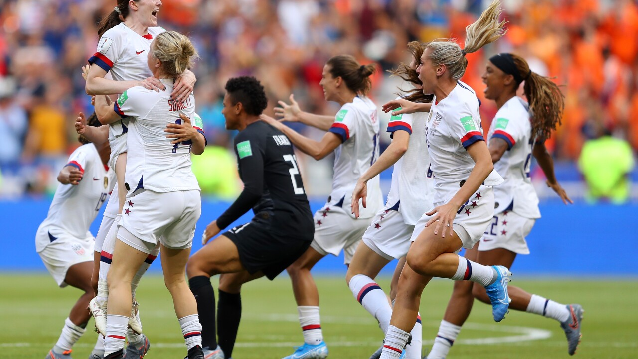 US Women's soccer team crowned world champions after 2-0 win over the Netherlands