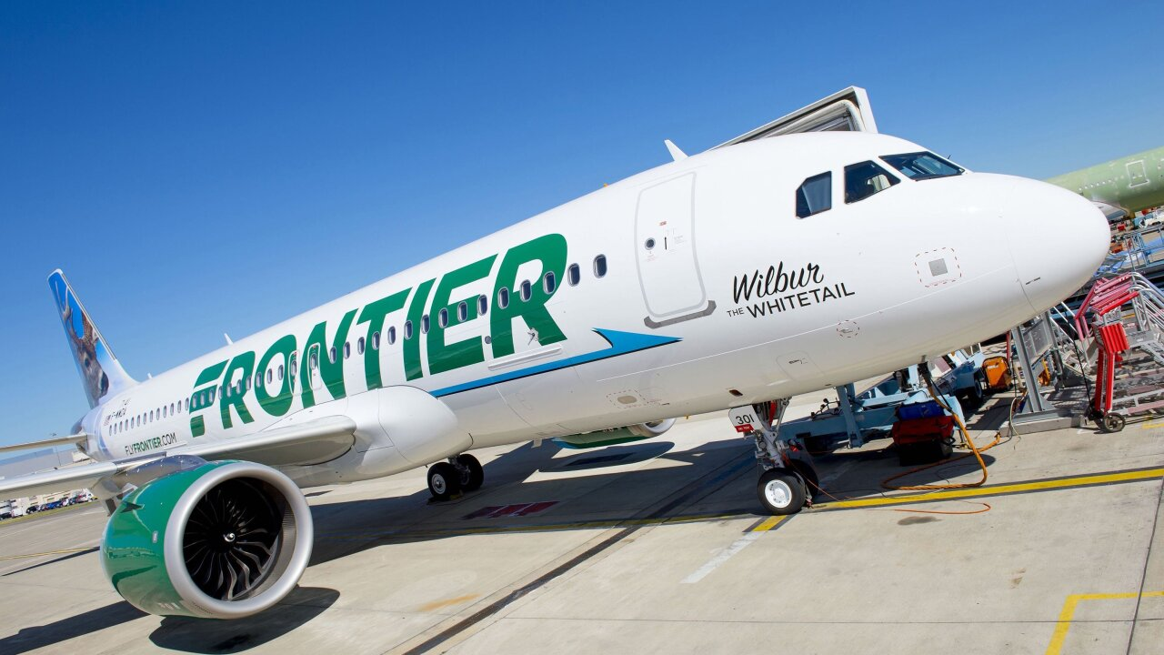 Airport water fountains shut down after passengers become ill on Frontier Airlines flight