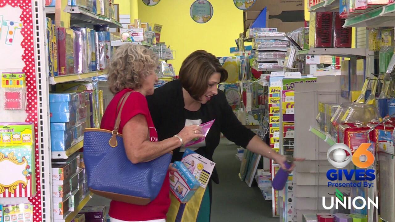Henrico kindergarten teacher surprised with school supplies forstudents