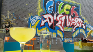 Gulch Distillers outdoor seating