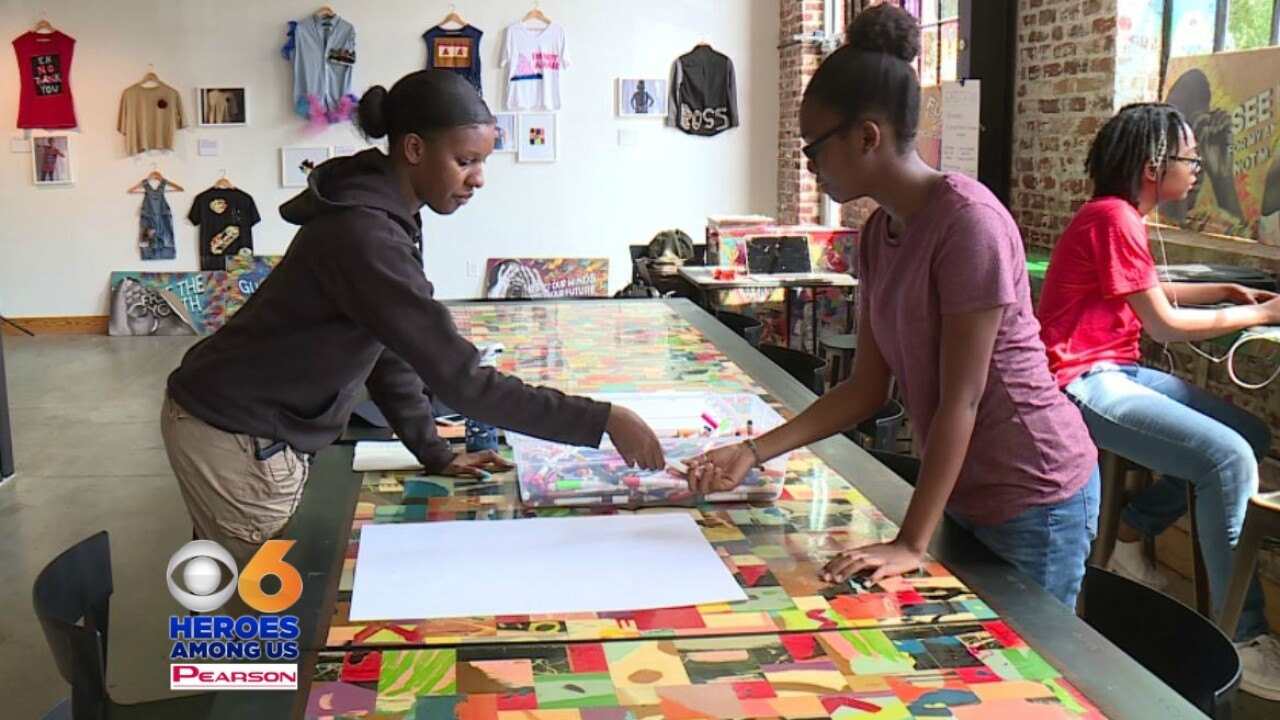 Art program helps local kids gain confidence and 'Speak from the Heart'