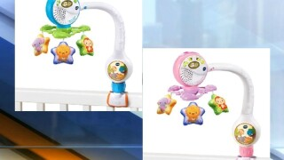 VTech recalls popular Lights & Lullabies Travel Mobile