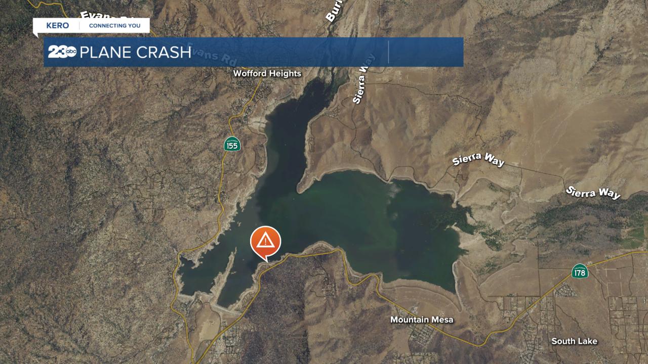 Lake Isabella plane crash
