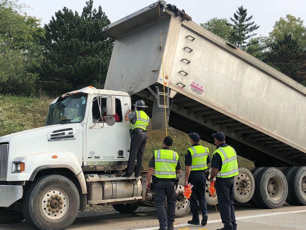 Dump truck on I-480.jpg