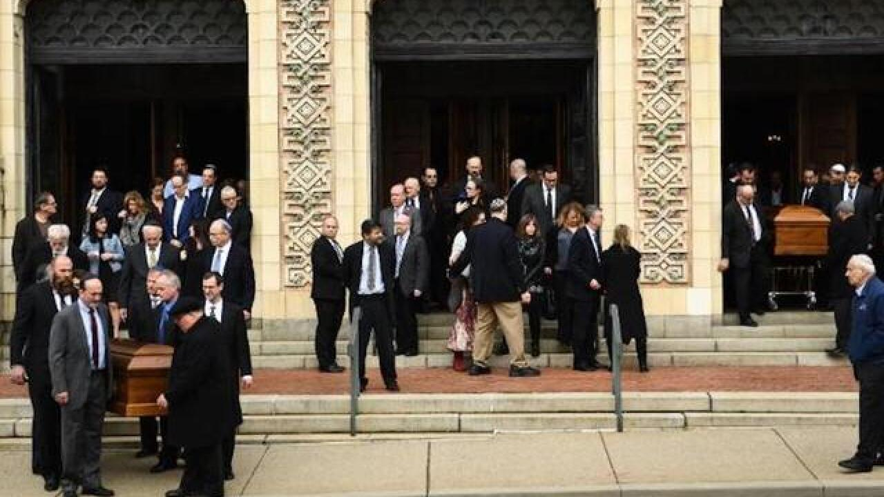 Another day of funerals as Pittsburgh mourns synagogue shooting victims