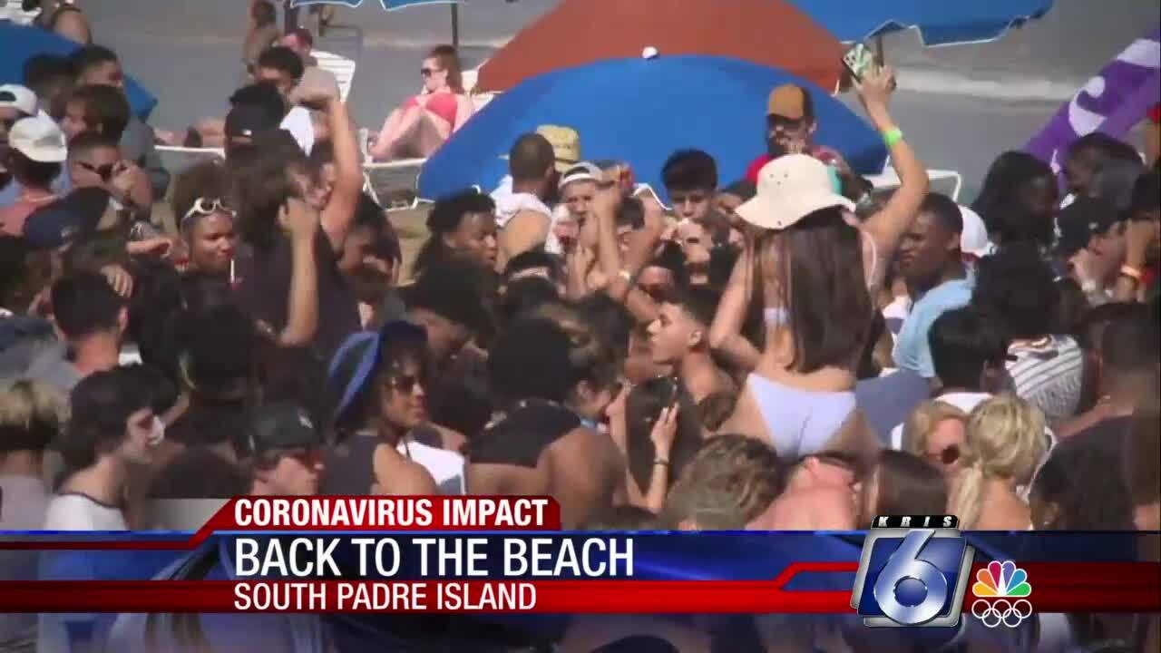 South Padre Island busy as Spring Break 2021 continues