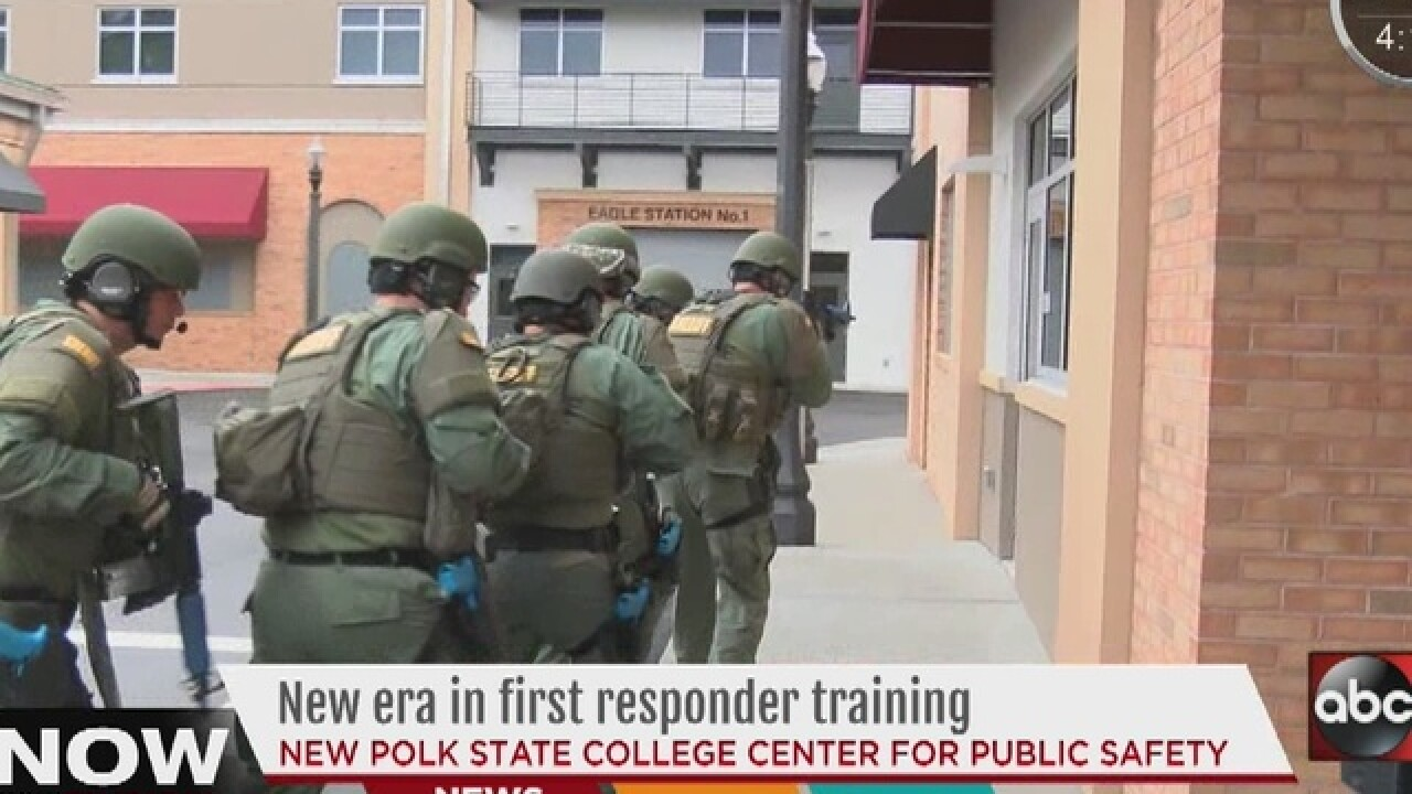 Polk College opens police training center