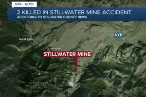 Stillwater Mine reports 2 fatalities