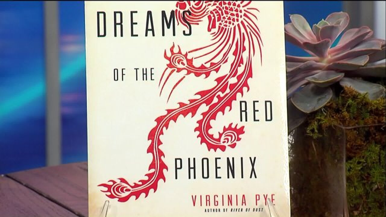 Award-winning author Virginia Pye introduced her latest work, 'Dreams of the Red Phoenix'