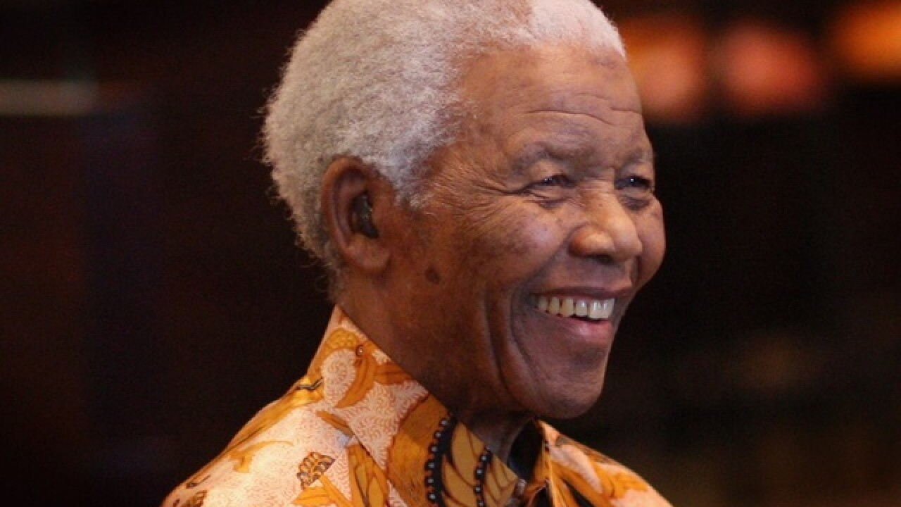 New exhibit celebrates Nelson Mandela's life