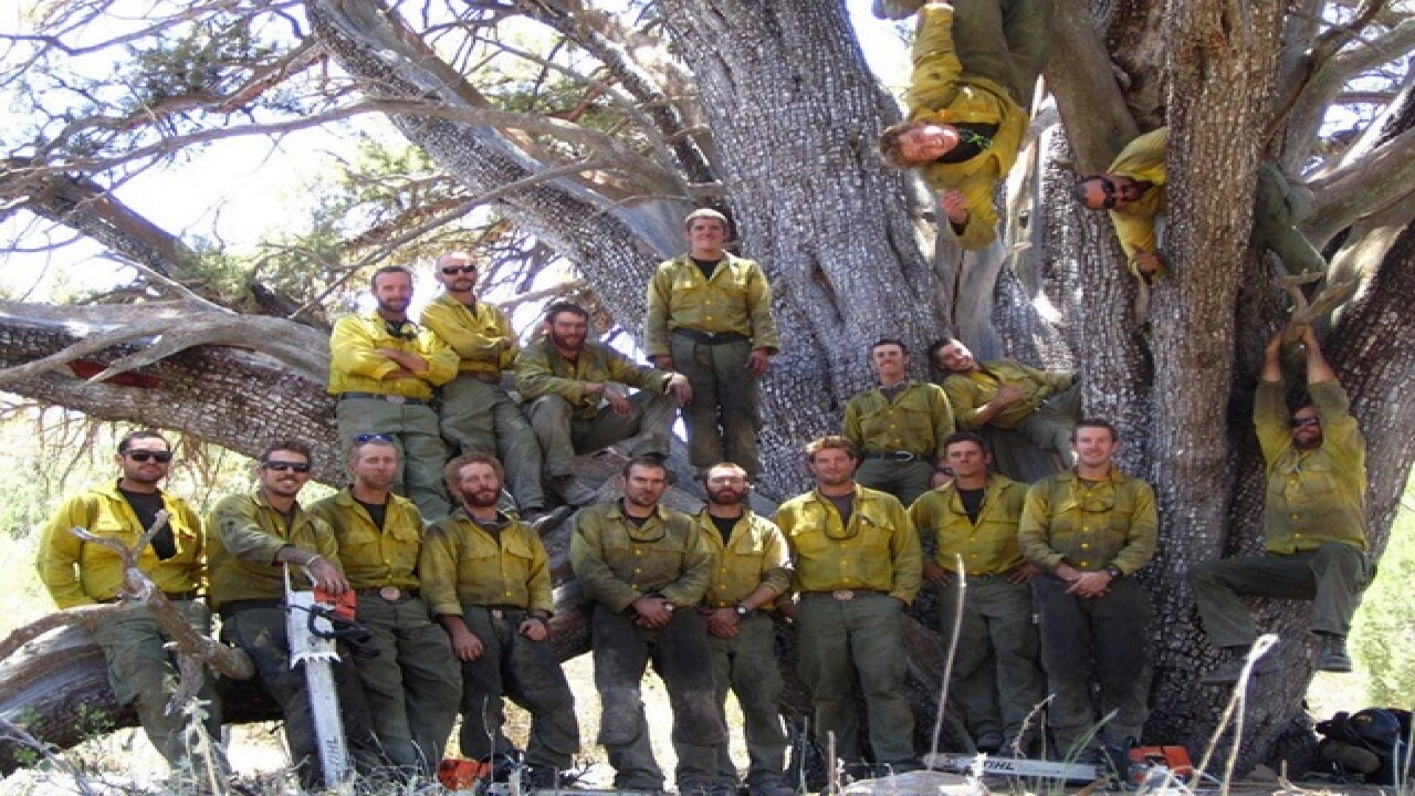 Site dedicated to 19 Granite Mountain Hotshots