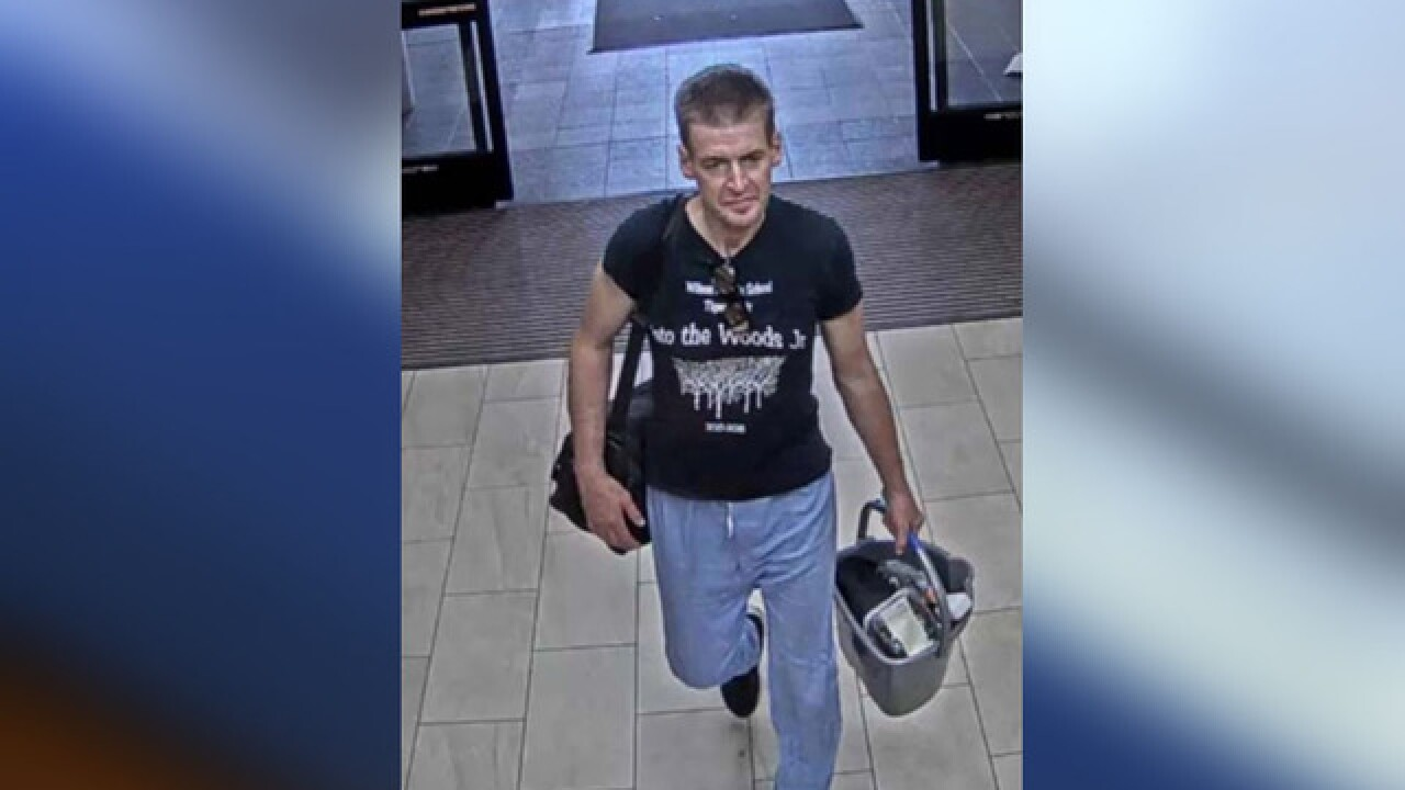 Man wanted for lewd acts in hospital elevator