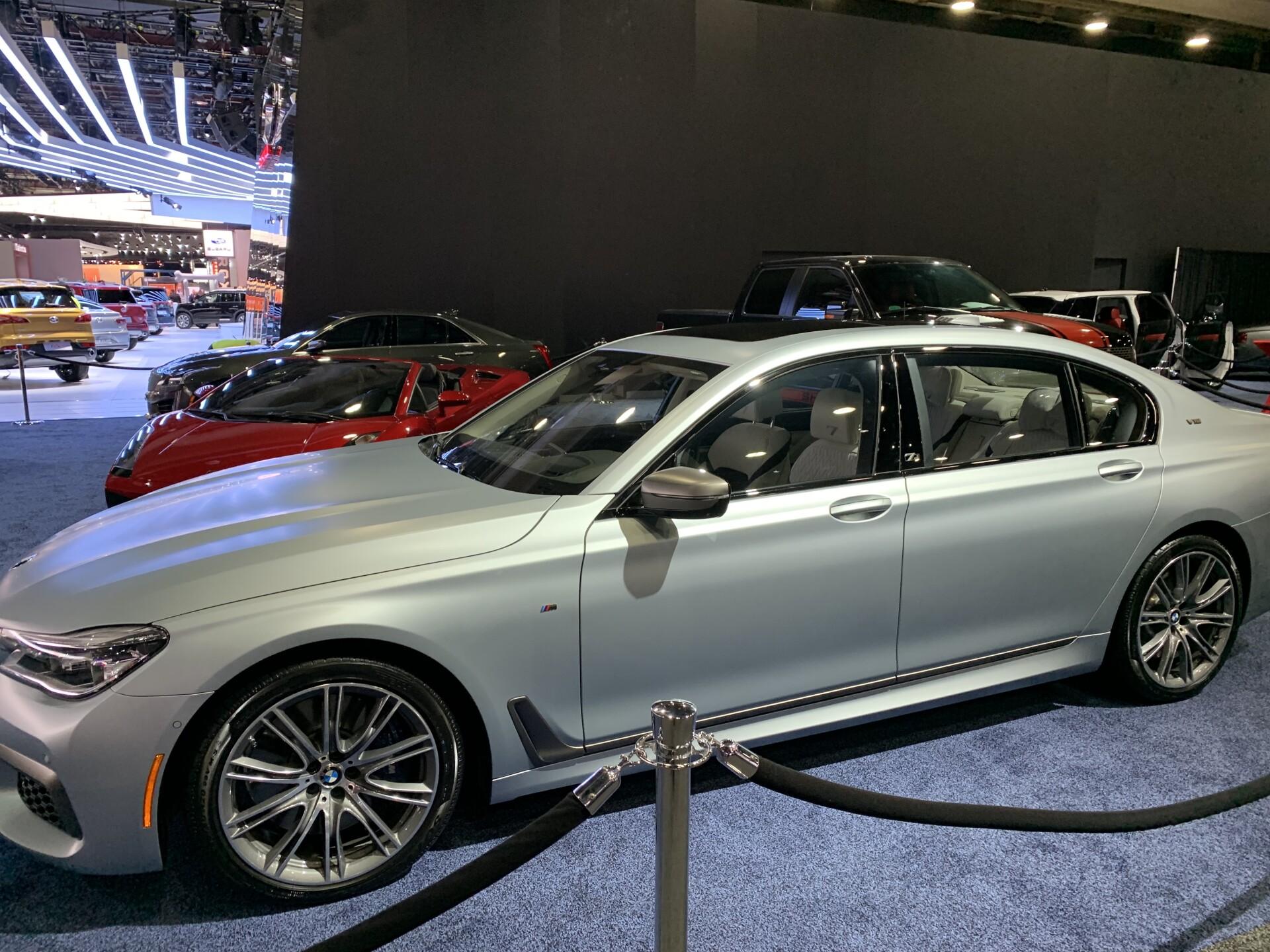 Auto show luxury cars