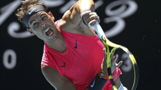 Nadal: A lot on his mind at Australia Open, but not No. 20