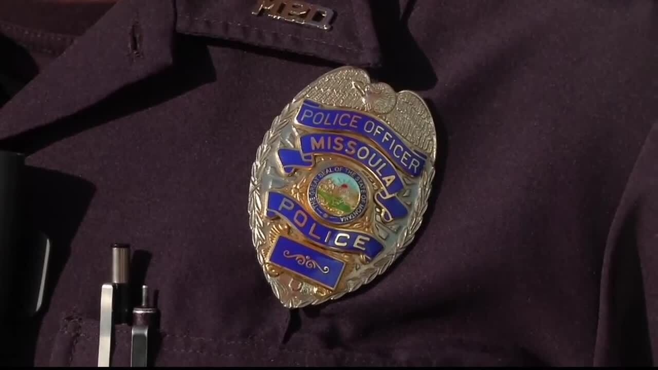 Missoula Police Badge