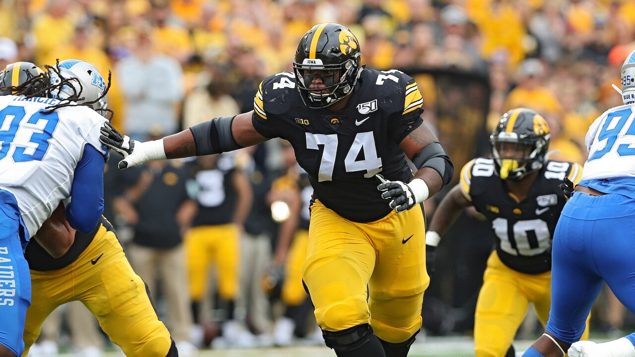 Iowa Football vs Middle Tennessee State